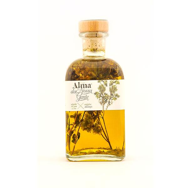 Azeite aromatizado [Óregãos]
