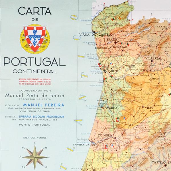 Mapa De Portugal Lusa Mater