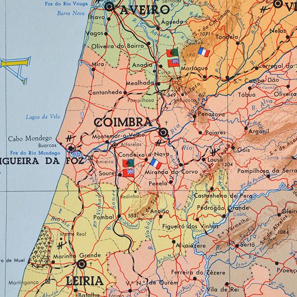 Bevorzugt Mapa de Portugal | Lusa Mater MY95