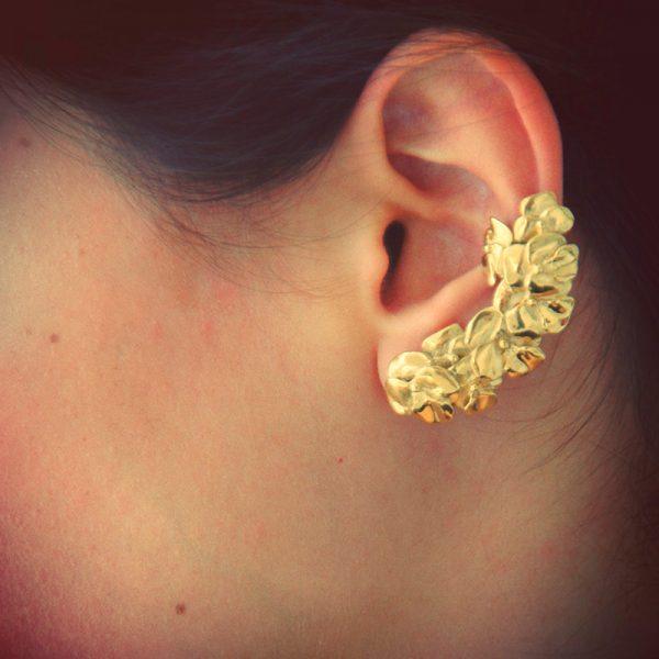 Ear cuff amores perfeitos